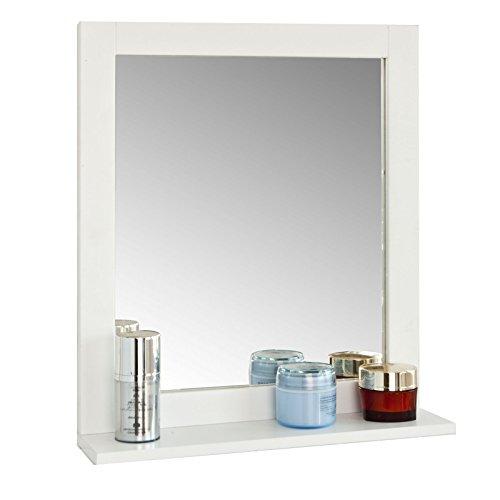 SoBuy® FRG129-W Spiegel Wandspiegel Badspiegel...