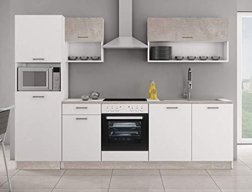 Küche MIKA 270 Küchenzeile Küchenblock...