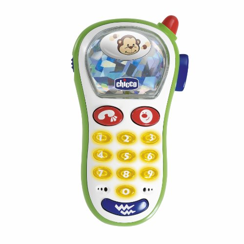 Chicco Baby Foto Handy, Spielzeughandy mit...