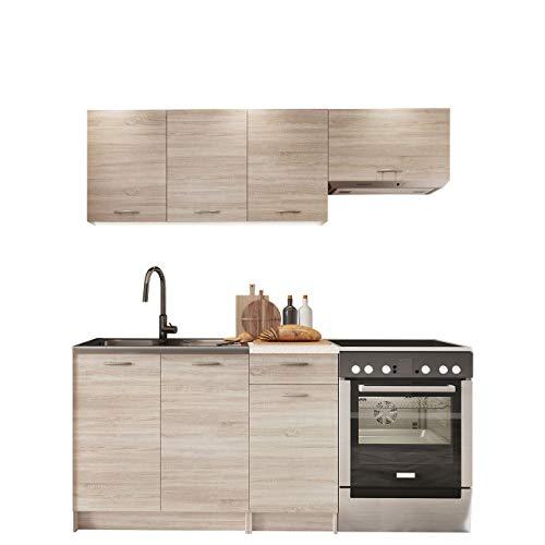 Küche Mela 180/120 cm, Küchenblock/Küchenzeile,...
