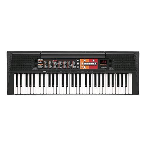 Yamaha Digital Keyboard PSR-F51, schwarz –...