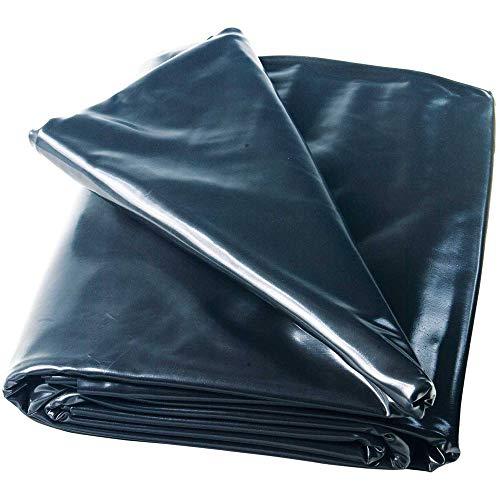 Heissner Teichfolie PVC schwarz, Stärke 0,5 mm...