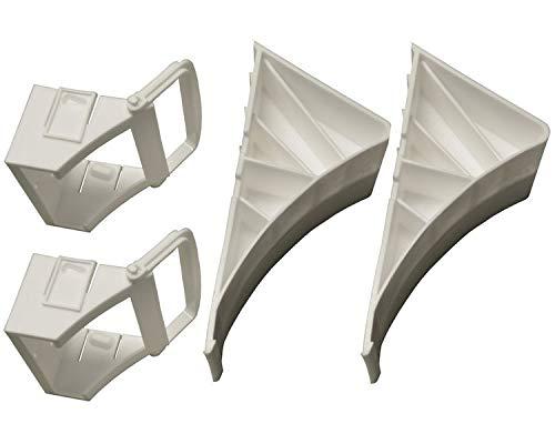 2 Stück - Unterlegkeil für Autoanhänger -...