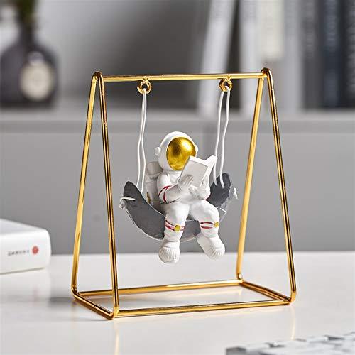 YSJJUSZ Figur Moderne Stil Astronaut Statuen...