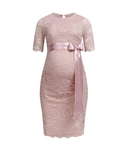 Herzmutter Umstands-Spitzen-Kleid -...