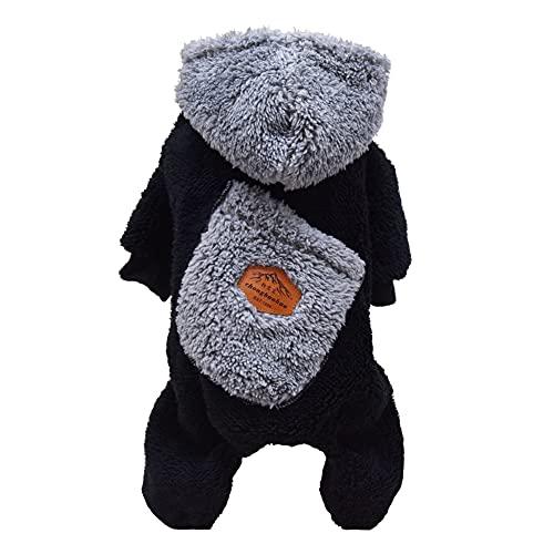 Hund Mantel Kleidung Hoodie Warme Pyjamas Pullover...