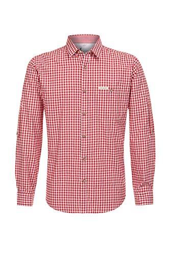 Stockerpoint Herren Campos3 Trachtenhemd, Rot...