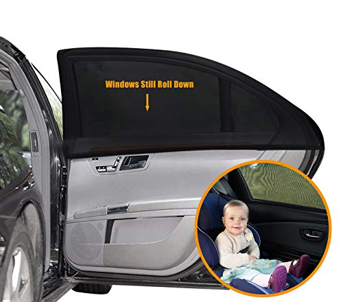 Auto Sonnenschutz für Baby 2 Stück, Autofenster...
