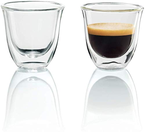 De'Longhi isolierte Espresso-Gläser, 2er Set,...