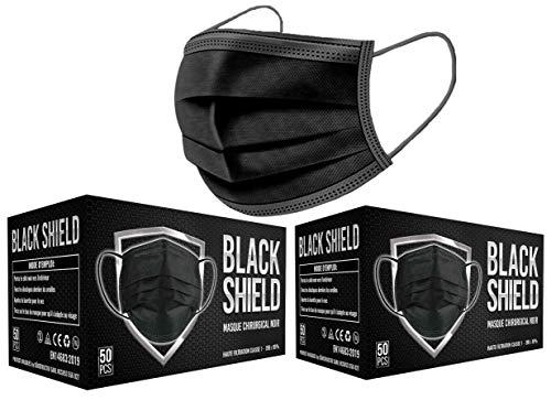 Black Shield - CE Zertifiziert - Schwarze...
