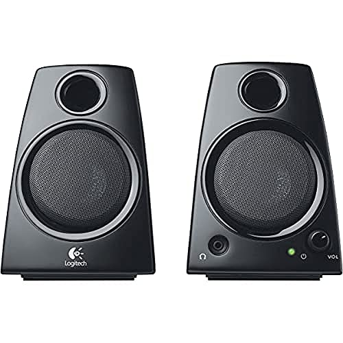 Logitech Z130 PC-Lautsprecher, Stereo Sound, 2...