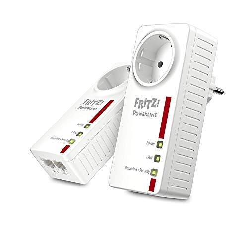 AVM FRITZ!Powerline 1220E Set (1,200 MBit/s, 2x...
