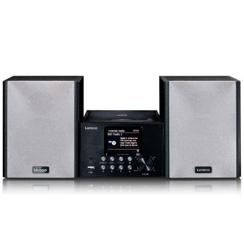 Lenco MC-250 Kompaktanlage mit WLAN Internetradio...