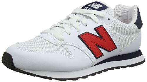 New Balance Herren 500 Varsity Pack Sneaker, Weiß...