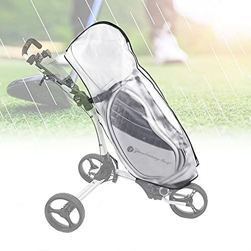 KBNIAN Golf Bag Regenschutz Transparent Golftasche...