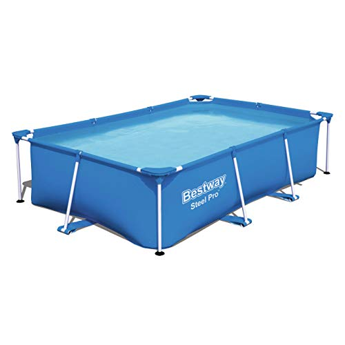 Bestway Steel Pro Frame Pool ohne Pumpe, viereckig...