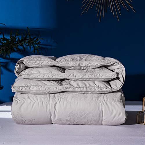 MIYVQD Bettdecke 95% weiße Gänsedaunen,...