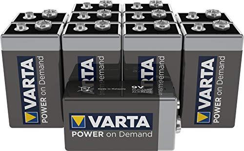 VARTA Power on Demand 9V Block (10er Pack - smart,...