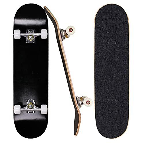 Sumeber Skateboard für Anfänger 31 x 8 Zoll...
