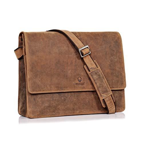 DONBOLSO Barcelona Messenger Bag Leder I...