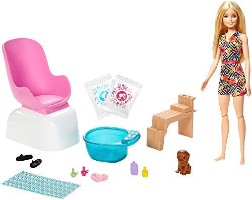 Barbie GHN07 Wellness Maniküre Pediküre Spa,...