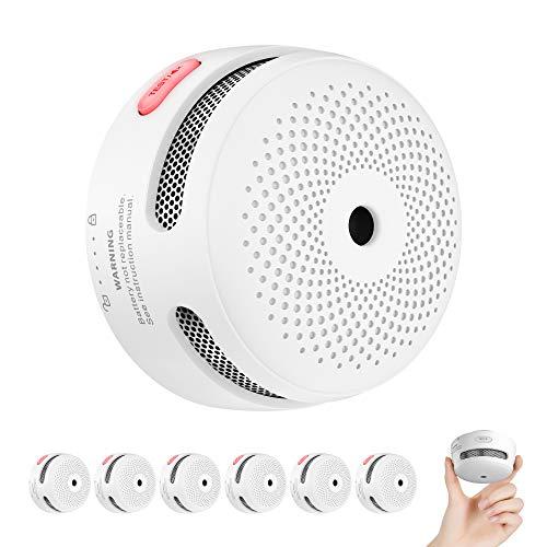 X-Sense Rauchmelder Mini Feuermelder mit 10 Jahren...
