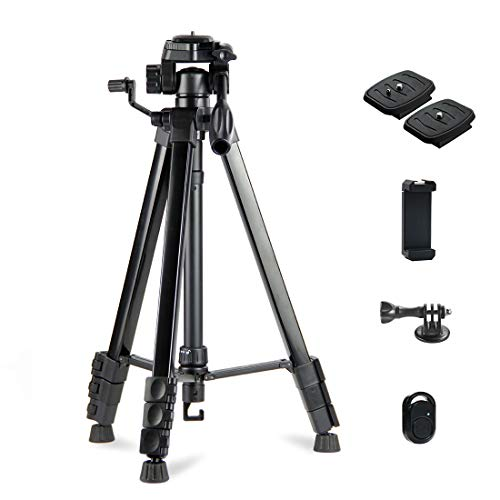 Phinistec 175cm Stativ für Kamera, Handy, iPhone,...
