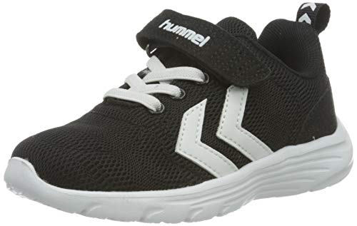 hummel Unisex-Kinder PACE JR Sneaker, Black,28 EU
