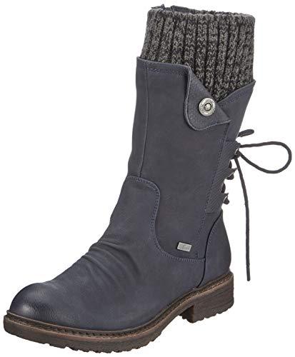 Rieker Damen Stiefel 94750, Frauen...
