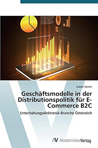 Geschäftsmodelle in der Distributionspolitik für...