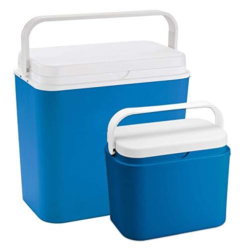 Kühlbox Set 24 Liter & 10 Liter - Isolierbox...