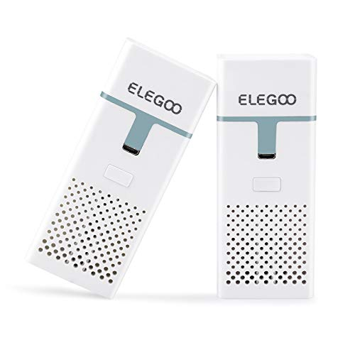 ELEGOO Mini Luftreiniger mit Aktivkohlefilter und...