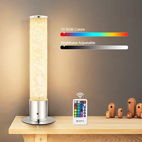LED Tischleuchte Dimmbar mit fernbedienung 6W,...