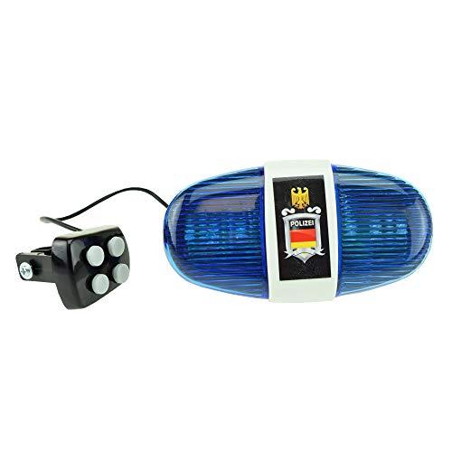 Toi-Toys 55008A - Fahrradlampe Polizei,...