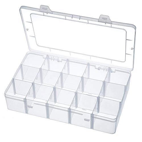 Aufbewahrungsbox 15 Raster Kunststoff Verstellbare...