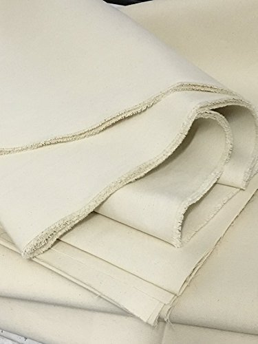schweres Segeltuch 100% Baumwolle Natur-weiß 172...