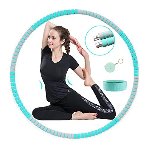 Fitness Hoop Reifen für Erwachsene & Kinder, 8...