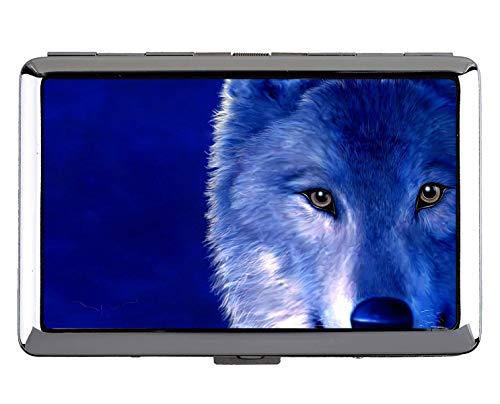 Kreativer Aufbewahrungskoffer, Animal Wolf Damen...