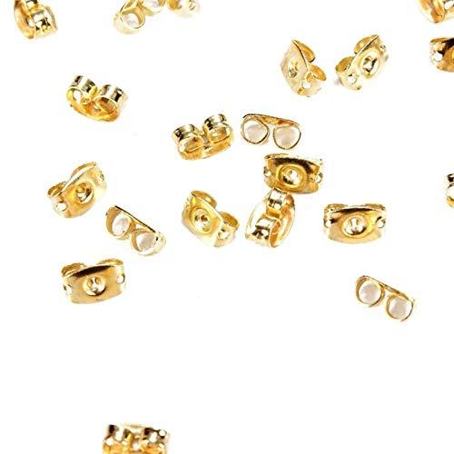 IENPAJNEPQN 50PCS Gold-umklammert Spitzen...
