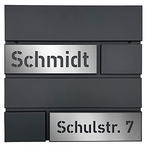 AlbersDesign - Personalisierter Design Briefkasten...