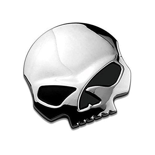 3D Metallschädel Autoaufkleber-Auto &...