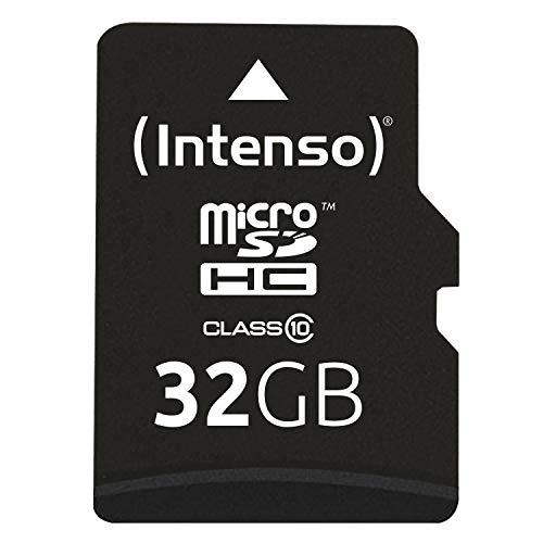 Intenso Micro SDHC 32GB Class 10 Speicherkarte...