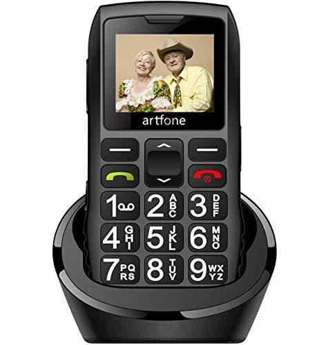 artfone Seniorenhandy ohne Vertrag | Dual SIM...