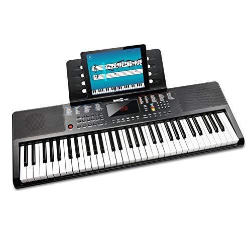 RockJam kompaktes 61 Tasten Keyboard mit...
