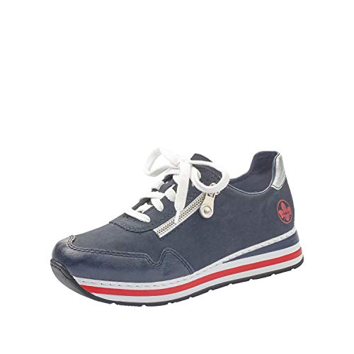 Rieker Damen Low-Top Sneaker L2321, Frauen...
