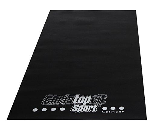 Christopeit Bodenschutzmatte, schwarz, 120 x 60 x...