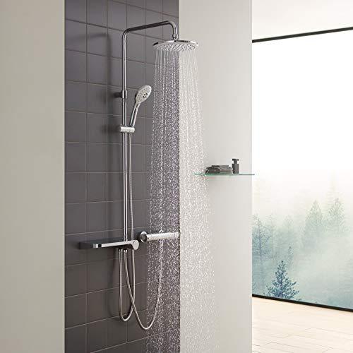 CECIPA Duschsystem mit Ablage, Duschset ohne...