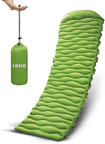 LHNK Camping Isomatte Aufblasbare Ultraleicht...