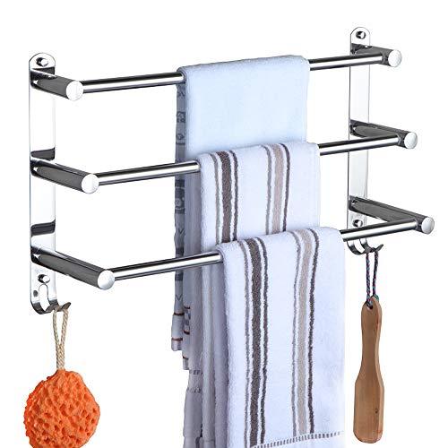 Handtuchhalter Chrom HONPHIER® Handtuchstangen...