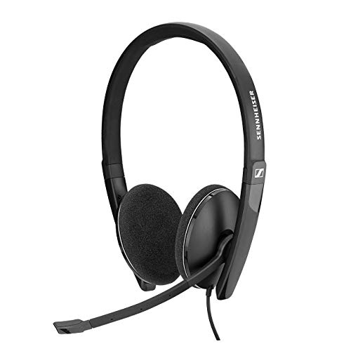 Sennheiser PC 8.2 USB-On-Ear Headset PC,...